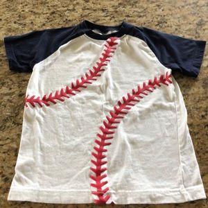 Boys Gymboree baseball shirt